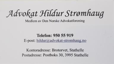 Advokat Strømhaug